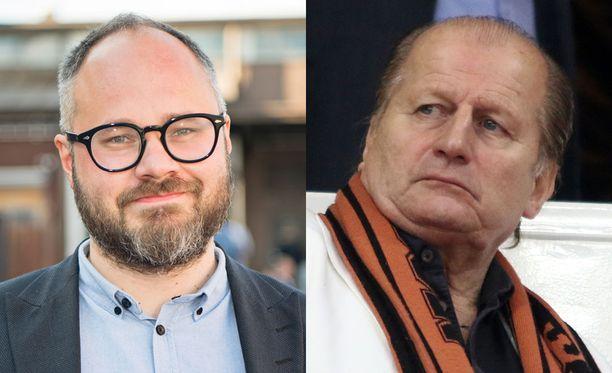 Jokohan Tuomas Enbuske ja Juhani Tamminen ovat lyöneet kättä päälle ja sopineet riitansa?