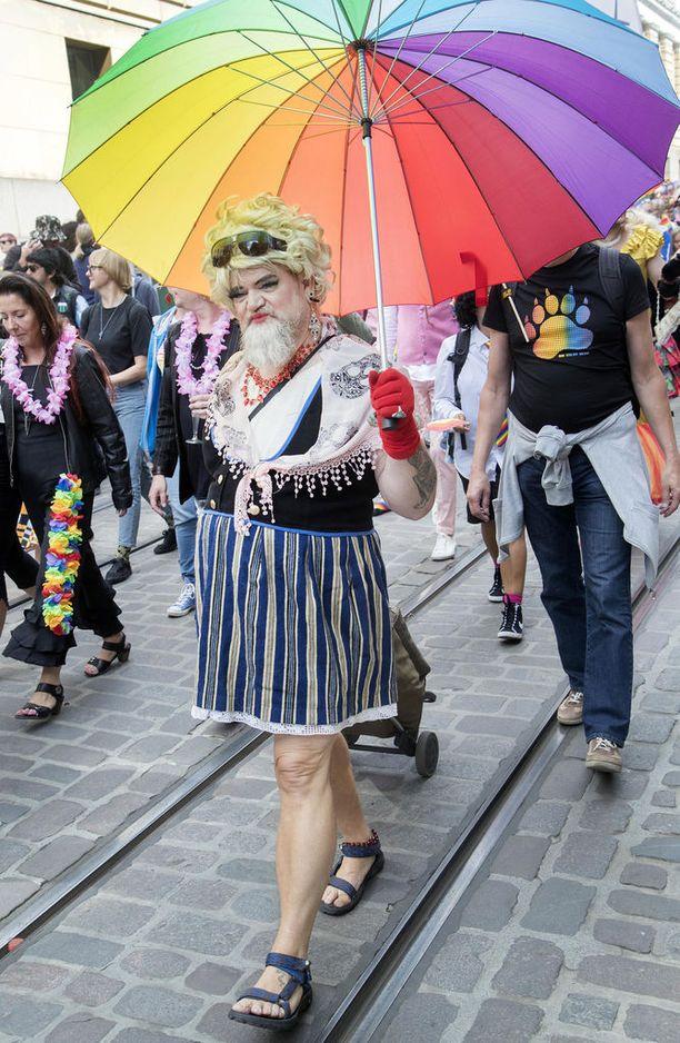 Seksuaali- ja sukupuolivähemmistöjen oikeuksien puolesta on marssittu Suomessa 1970-luvulta alkaen ja Helsingissä joka vuosi vuodesta 2006 lähtien.