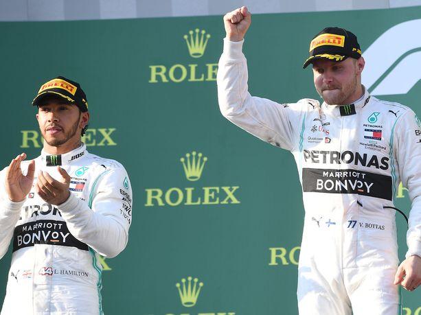 Australian GP oli Mercedeksen ja erityisesti Valtteri Bottaksen juhlaa.