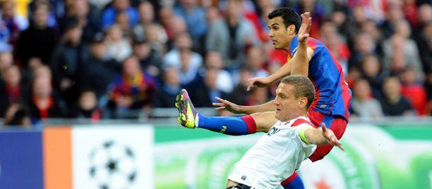 Pedro teki ottelun avausmaalin.