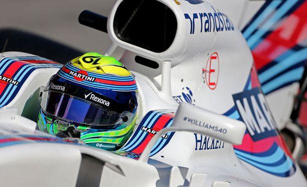 Felipe Massa näytti, että veteraanilla on vauhti tallessa.