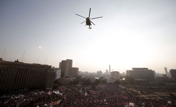 Egyptin tilanne on eskaloitumaan päin.