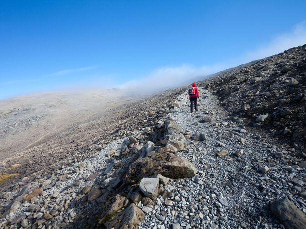 Ben Nevisin vuoristo on karu paikka juosta.