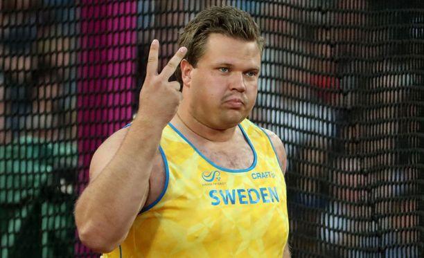 Daniel Ståhl kuittasi MM-hopeasta noin 25 000 euroa.