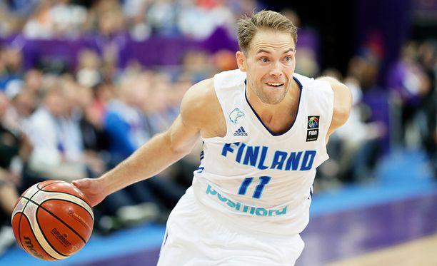 Petteri Koponen pelasi kelpo ottelun Puolaa vastaan.