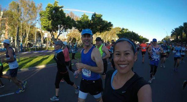 Cape Townin maraton oli ensimmäinen seitsemän maratonin sarjassa.