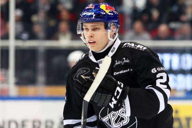 Kaapo Kakko on tehnyt tällä kaudella jo 18 maalia SM-liigassa.