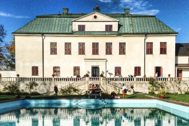 Härligen linna 1600-luvulta.