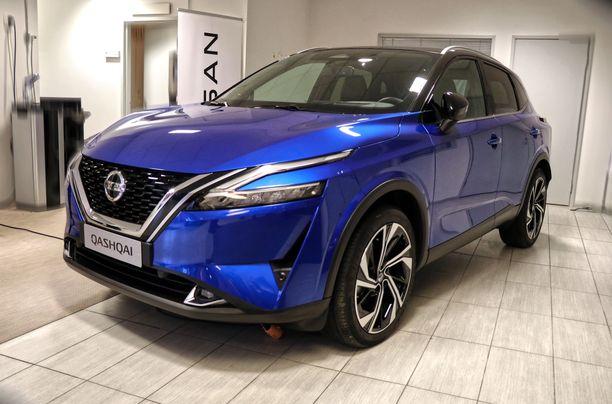 Keulan ilme tuo mieleen uuden Nissan Juken.