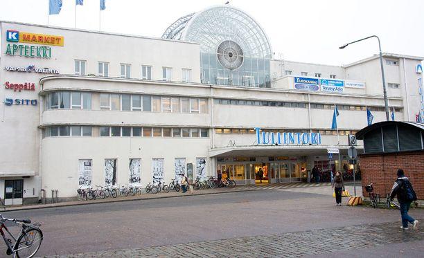 Mies otettiin kiinni Tampereen Tullintorilta.