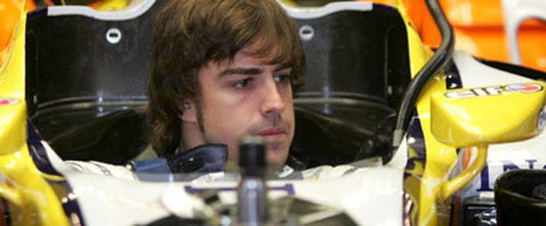 Fernando Alonso aikoo palauttaa Renaultin jälleen kilpailukykyiseksi.