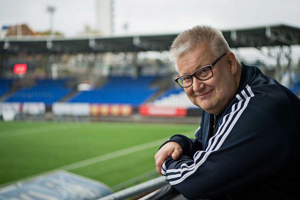 Sairauttani ei voida parantaa, mutta sitä voidaan hoitaa. Onneksi sairaus myös etenee hitaasti, Antti-Jussi Väinölä sanoo.