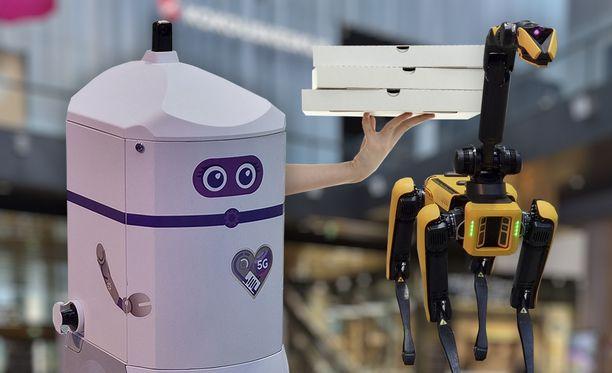 Roboteille voidaan antaa monia tehtäviä. Kuvituskuva.