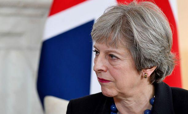 Britannian pääministeri Theresa May sanoo, että voimankäytölle Syyriassa ei ollut vaihtoehtoa.