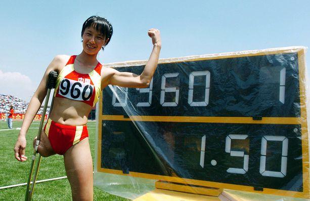 Vuonna 2007 Yuna Gui ylitti ennätyskorkeutensa 150.