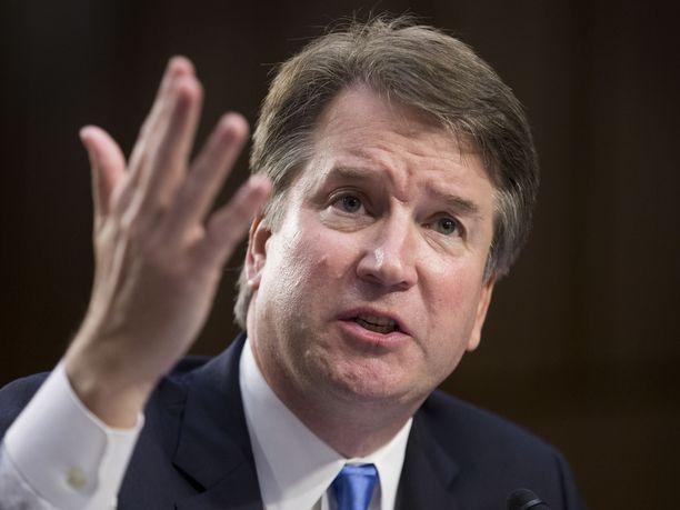 Kavanaugh on presidentti Trumpin ehdokas uudeksi korkeimman oikeuden tuomariksi.