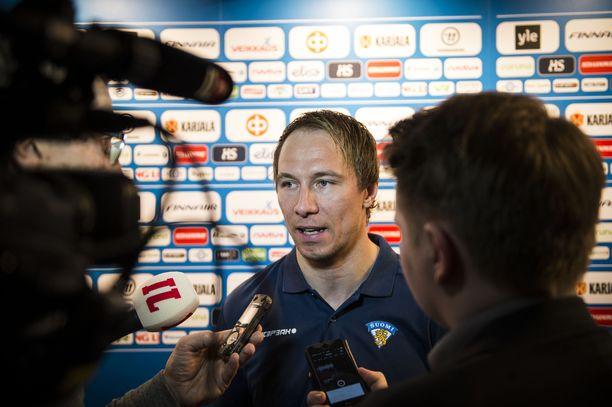 Jussi Jokinen dominoi Sveitsissä.
