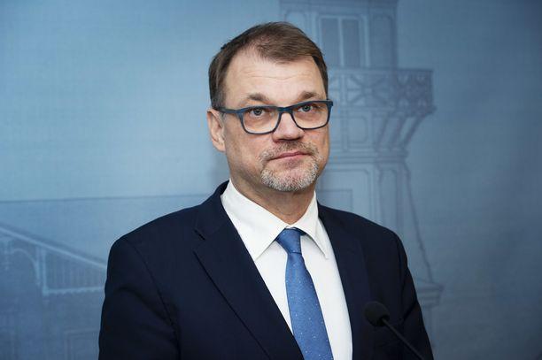 Juha Sipilä kommentoi, miten seuraava nelivuotiskausi häneltä sujuu. Arkistokuva.
