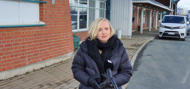 Sisäministeri Maria Ohisalo (vihr) vetosi maanantaina Torniossa suomalaisten moraaliin rajanylityksissä.
