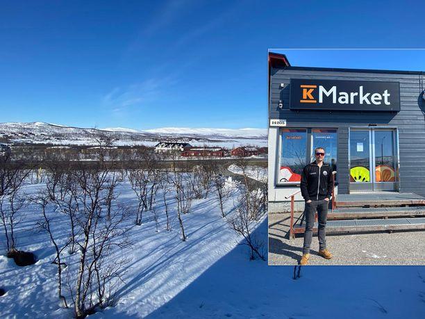 Kilpisjärvellä on vielä parhaat hiihtokelit, mutta myynti takkuaa Norjan ollessa kiinni.