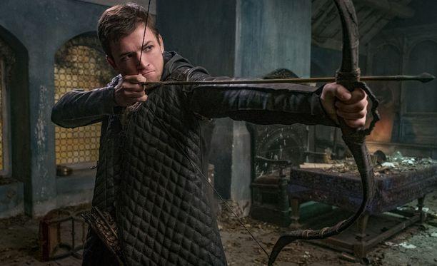 28-vuotias walesilainen Taron Egerton on uusi Robin Hood.