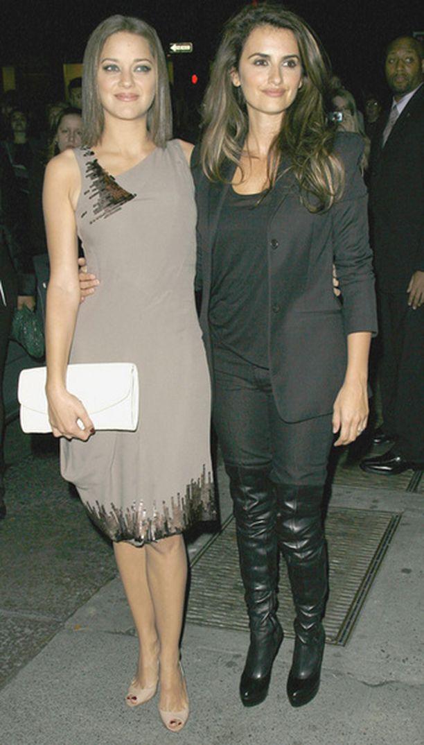 Marion Cotillard ja Penelope Cruz ovat filmilegendan mielestä aivan liian niukkaruokaisia.