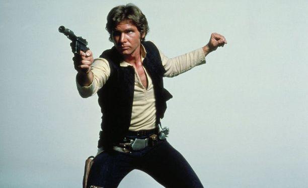 Han Solo käytti nyt myytyä pyssyä elokuvassa Jedin paluu.