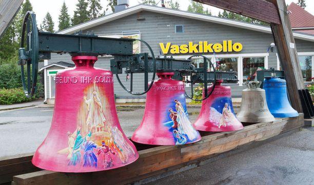 Pyhäjärven Vaskikello tunnetaan vanhoista kelloistaan.