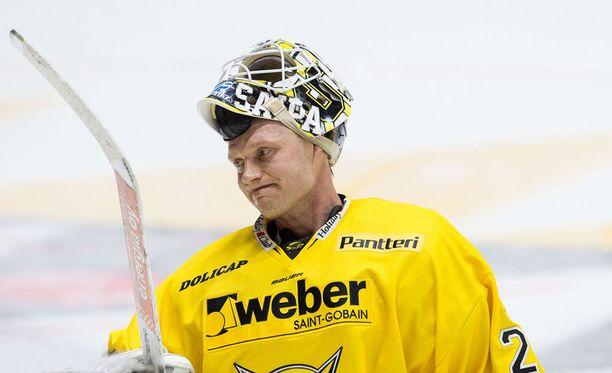 Jussi Markkanen päästi varsin halvan maalin.