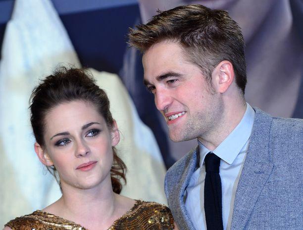 Twilight-sarja teki Kristen Stewartista ja Robert Pattinsonista tähtiä.