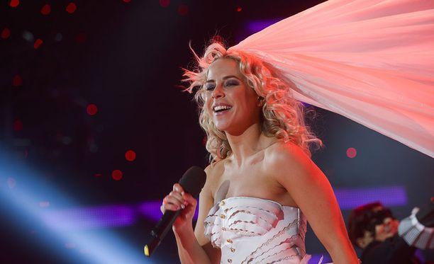 Krista Siegfrids edusti Suomea Marry Me -hitillään vuoden 2013 euroviisuissa.
