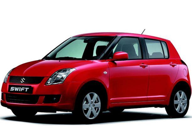 Suzuki Swift 4 x 4 on halvin Suomessa myytävä nelivetoinen varsinainen henkilöauto.