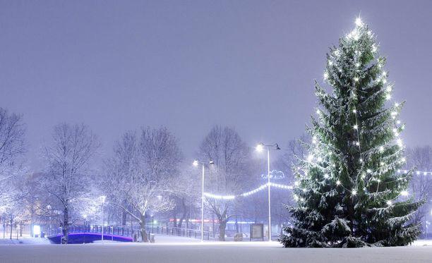 Eteläänkin voidaan vielä odottaa valkoista joulua.