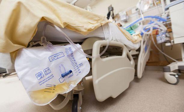 Poliisi tutkii epäiltyä pahoinpitelyä Laakson sairaalassa. Kuvituskuva.