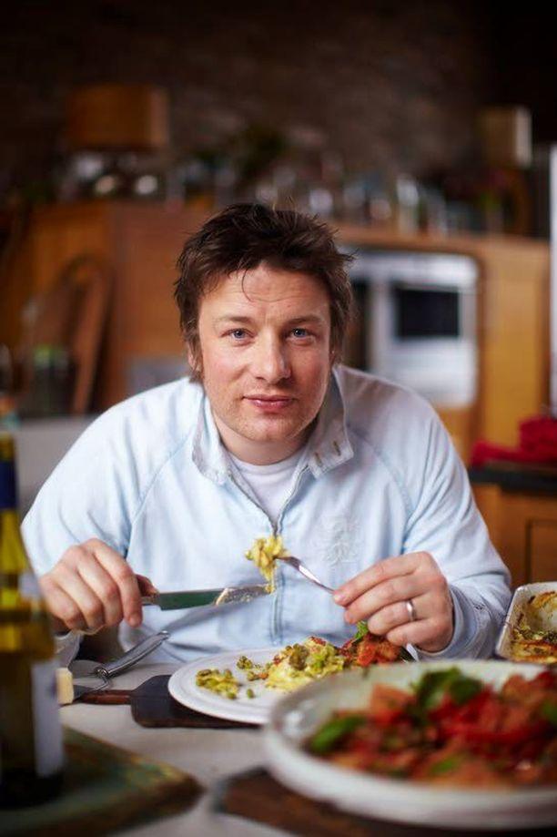 Jamie Oliverin reseptit eivät ole niin terveellisiä, kuin moni on luullut.