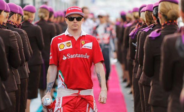 Kimi Räikkönen on myös innokas moottoripyörämies.