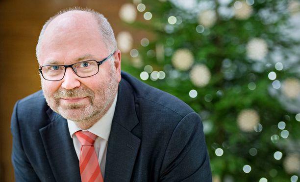 Eero Heinäluoma ilmoitti Jutta Urpilaisen kanssa samoihin aikoihin, ettei pyri presidenttiehdokkaaksi.