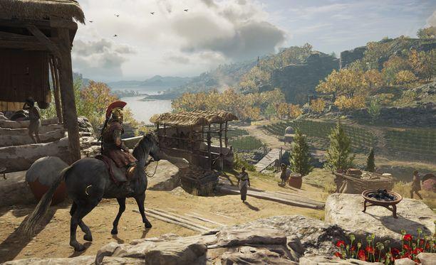 Odyssey on yksi vuoden näyttävimmistä peleistä.