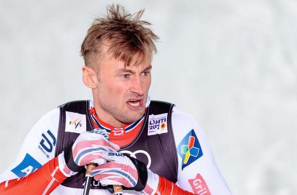 Petter Northug on todella kaukana huippuvuosiensa vireestä.