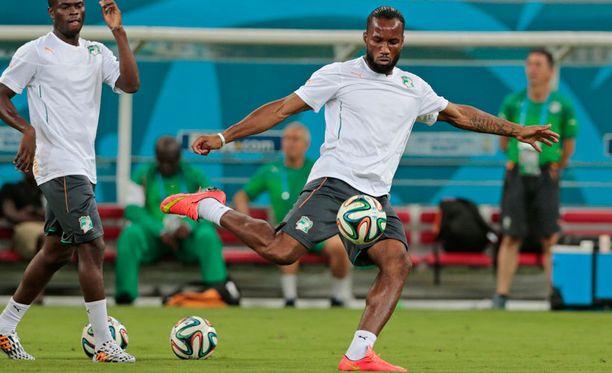 Didier Drogba on pelikunnossa.