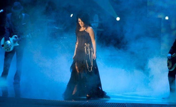 Hanna Pakarinen edusti Suomea Suomessa järjestetyissä Euroviisuissa vuonna 2007.