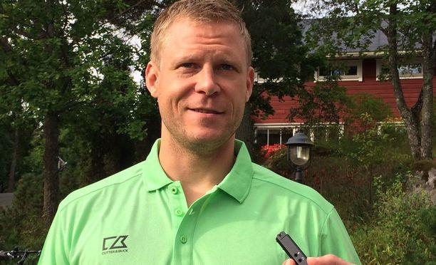 Myös Mikko Koivu osallistui hyväntekeväisyysgolfturnaukseen.