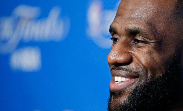 LeBron James on yksi tunnistetuimmista urheilijoista Yhdysvalloissa.