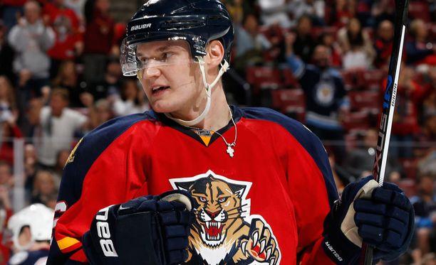 Aleksander Barkov pelaa NHL:n kuumimmassa jengissä.