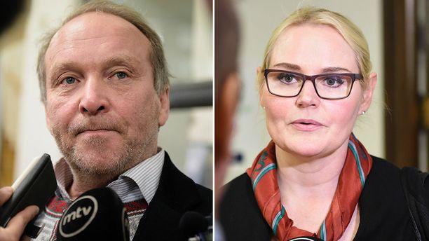 Veera Ruoho kommentoi ahdistelutapausta käräjäoikeudessa.