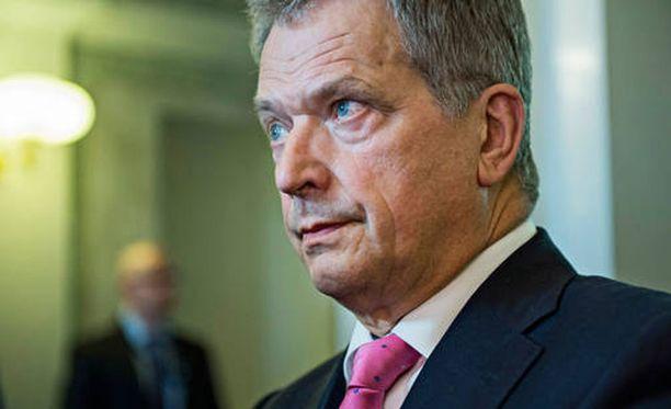 Presidentti Niinistö puhui puoluejohtajien kanssa ulko- ja turvallisuuspolitiikasta.