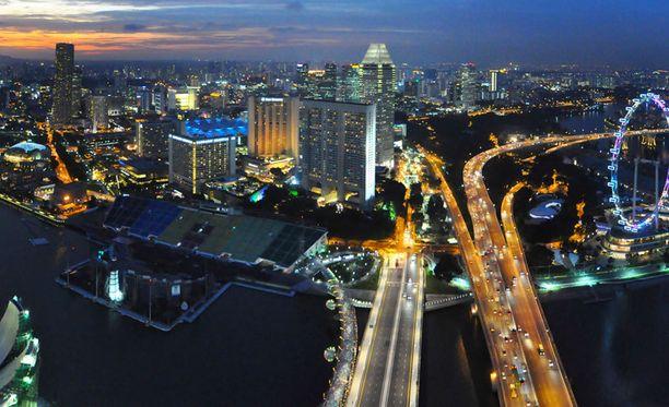 Singapore on metropoli.