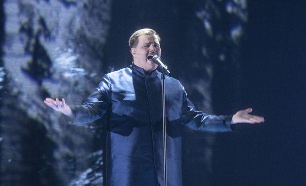 Aksel Kankaanrannan oli tarkoitus edustaa Suomea Rotterdamin Euroviisuissa.