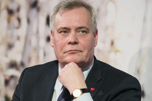 Sdp on kutsunut keskeiset päättäjänsä ulkopuolisilta suljettuun kaksipäiväiseen keskustelutilaisuuteen. Kuvassa puheenjohtaja Antti Rinne.