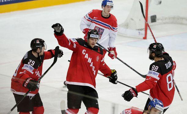 Kanada ei ole hävinnyt vielä peliäkään näissä MM-kisoissa.